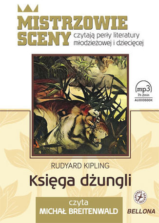 Księga dżungli - Audiobook.