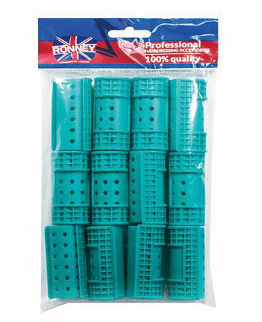 Ronney Wałki magnetyczne 32/65 mm zielone Hollow Magnetic Rollers RA 00029 12 szt.