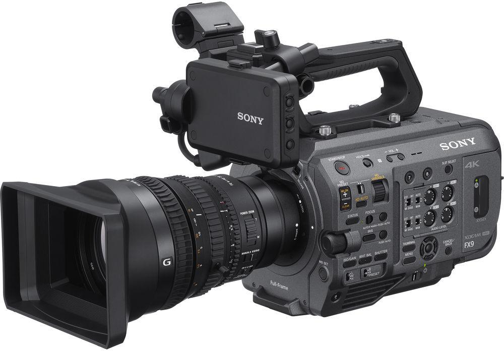Sony PXW-FX9K XDCAM + SELP28135G - kamera cyfrowa CMOS Exmor R 6K + obiektyw 28-135mm Sony PXW-FX9K XDCAM