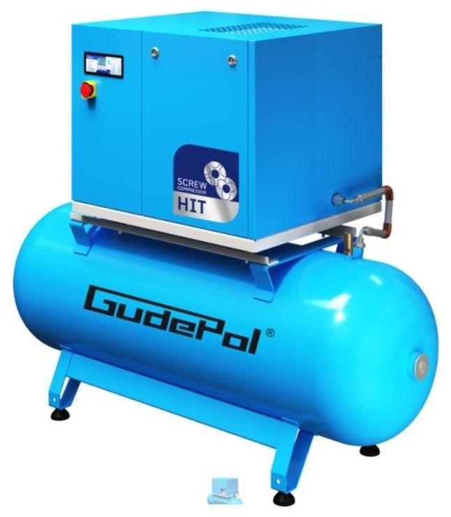 Kompresor śrubowy GudePol HIT-3G 10/10 /270 2021
