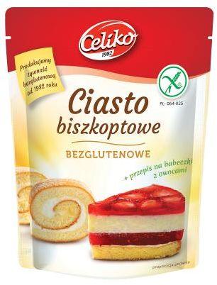 Ciasto biszkoptowe bezglutenowe 200 g CELIKO
