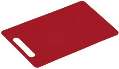 Kesper 2051606 deska do krojenia w kolorze czerwonym 29 x 19,5 x 0,5 cm