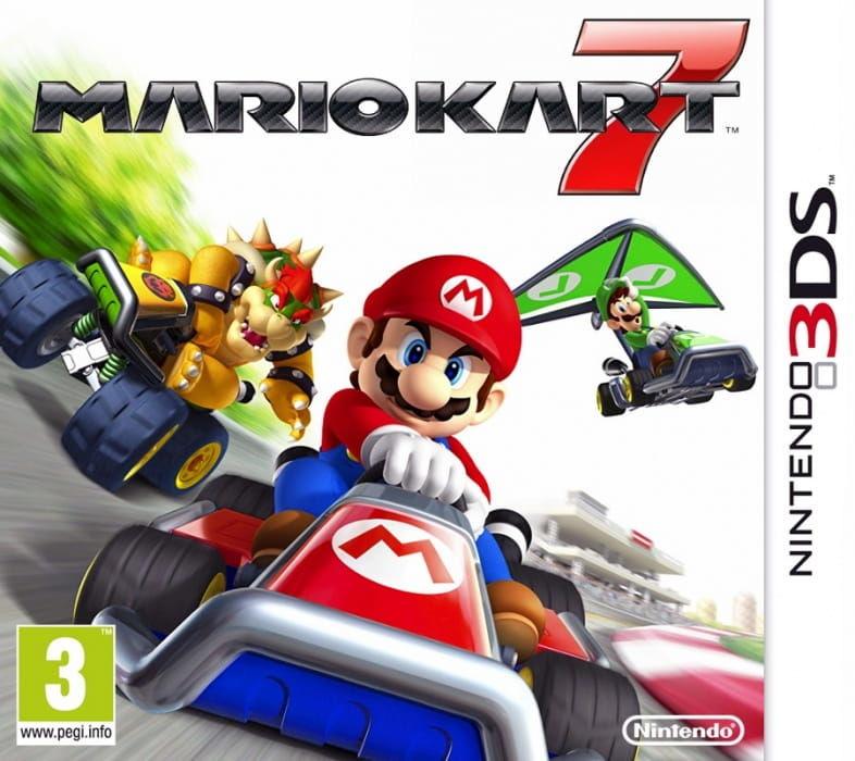 Gra Mario Kart 7 (3DS)
