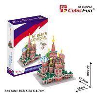 Puzzle 3D Katedra Świętego Piotra - Cubic Fun