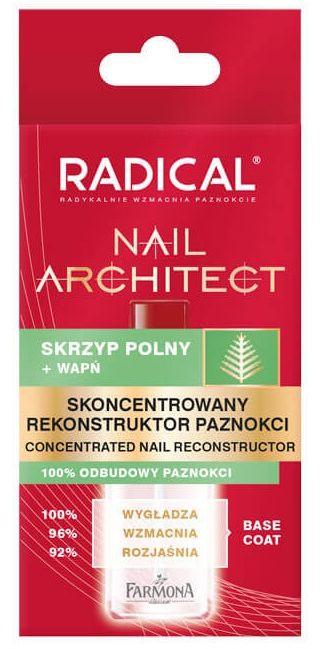RADICAL Nail Architect Skoncentrowany rekonstruktor paznokci 12ml