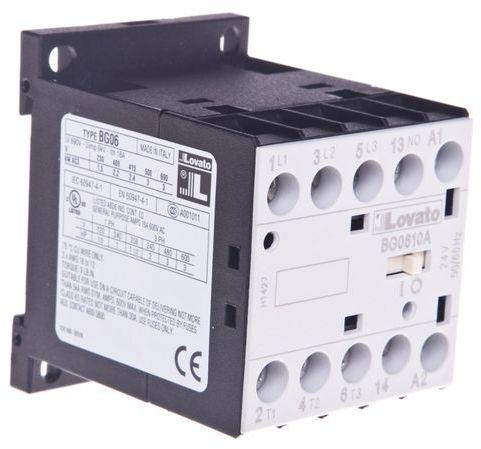 Stycznik mocy 6A 3P 24V AC 1Z 0R 11BG0610A024