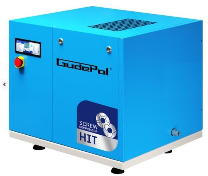 Kompresor śrubowy GudePol HIT-3G 5/10 2021