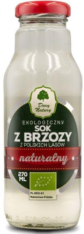SOK Z BRZOZY BIO 270 ml - DARY NATURY