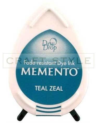 Tusz Memento Dew Drop - Teal Zeal
