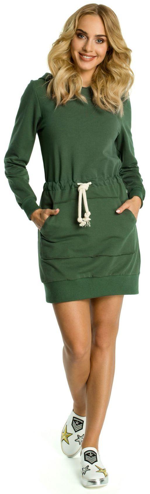 M352 Sukienka khaki