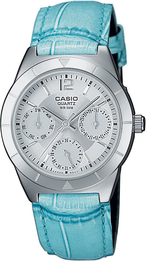 Zegarek Casio LTP-2069L-7A2 - CENA DO NEGOCJACJI - DOSTAWA DHL GRATIS, KUPUJ BEZ RYZYKA - 100 dni na zwrot, możliwość wygrawerowania dowolnego tekstu.