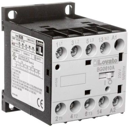 Stycznik mocy 6A 3P 230V AC 1Z 0R 11BG0610A230
