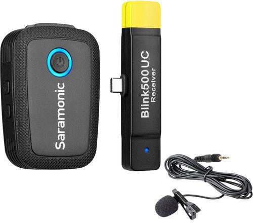 Saramonic Blink 500 B5 (TX+RXUC) - cyfrowy zestaw bezprzewodowy audio do USB Type-C Saramonic Blink 500 B5 (TX+RXUC)