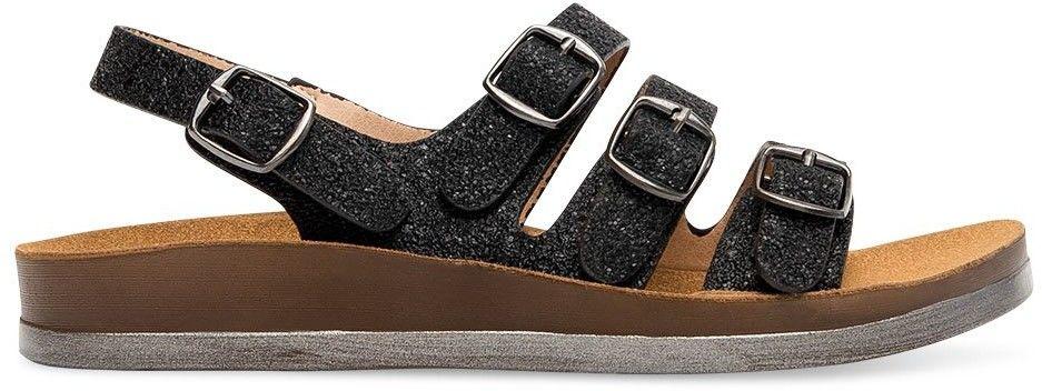 Sandałki damskie Super Mode 6864 Czarne