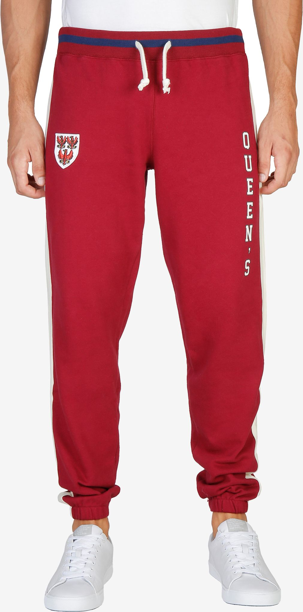 Oxford University QUEENS-PANT-RED XL
