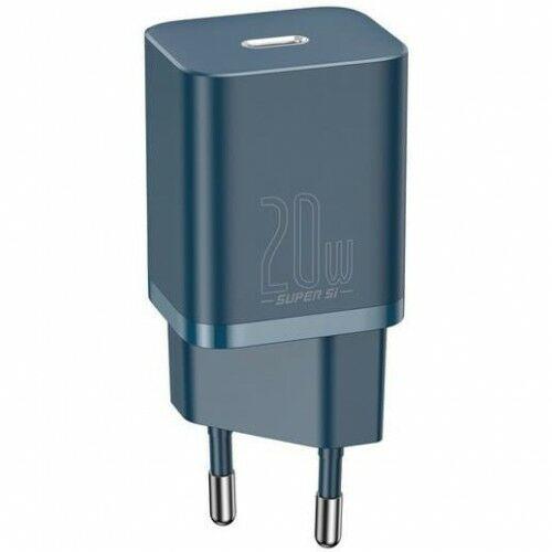 Ładowarka sieciowa Baseus Super Si USB-C 20W, niebieska