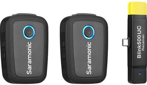 Saramonic Blink 500 B6 (TX+TX+RXUC) - cyfrowy zestaw bezprzewodowy audio do USB Type-C Saramonic Blink 500 B6 (TX+TX+RXUC)