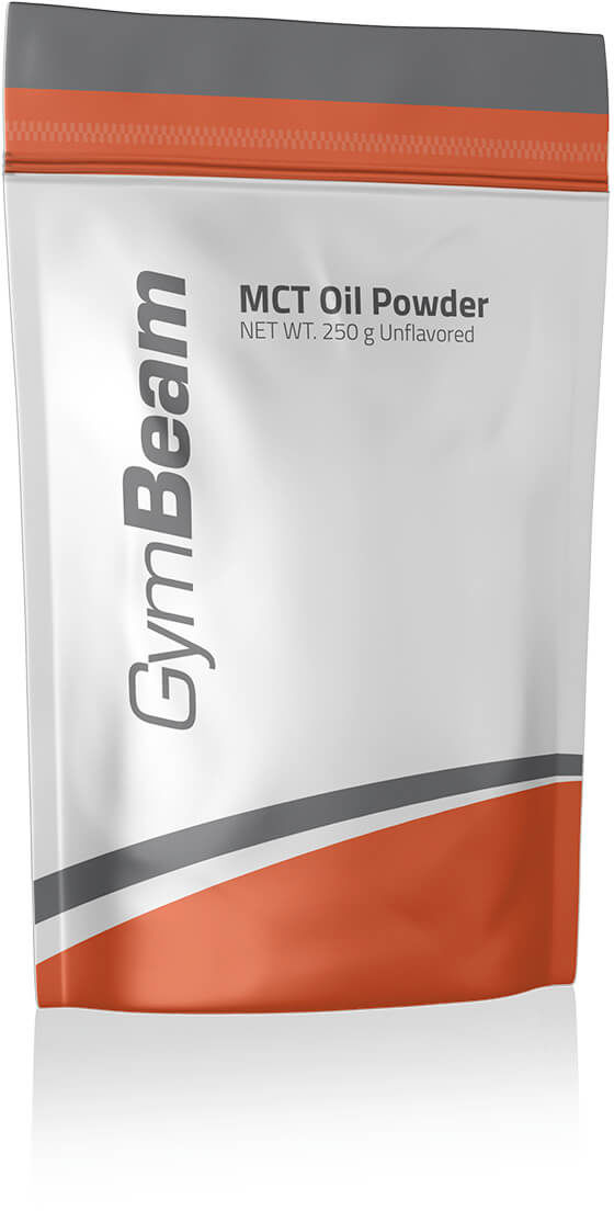 GymBeam 100% MCT Oil Powder 250 g bez smaku