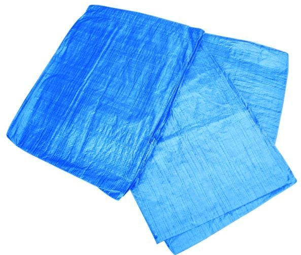 Plandeka 6x10m niebieska