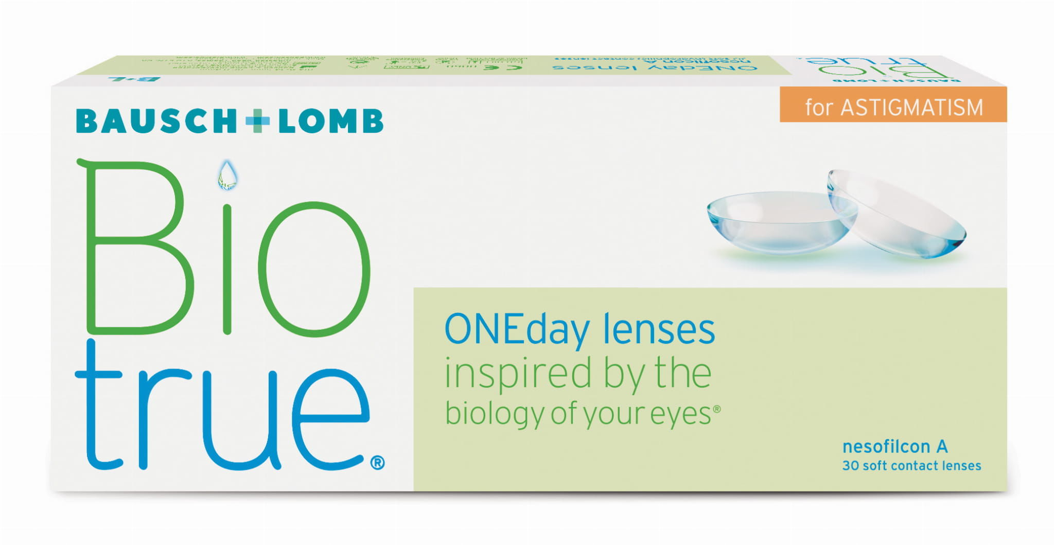 Biotrue ONEday for Astigmatism, 30 szt.