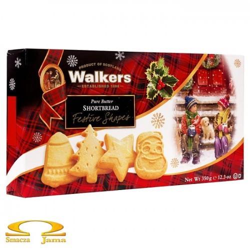Ciastka Walkers Świąteczne Kształty 350g
