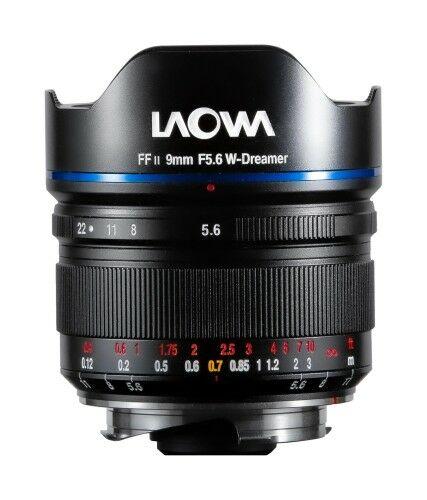 Laowa 9mm f/5,6 FF RL do Leica M - czarny