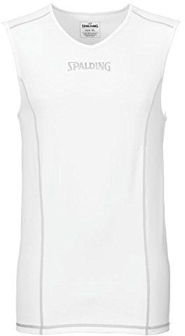 Spalding męski koszulek zespołowy i zestaw, tank top, biały, 3XL