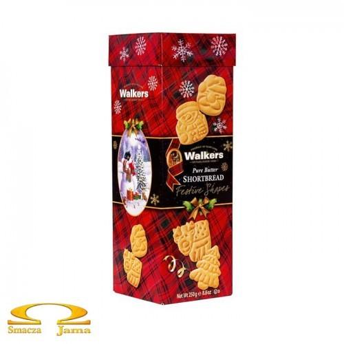 Ciastka Walkers Świąteczne Kształty 250g