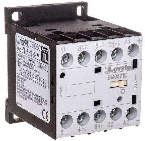 Stycznik mocy 6A 3P 24V DC 0Z 1R 11BG0601D024