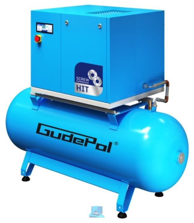 Kompresor śrubowy GudePol HIT-3G 3/08/270 2021