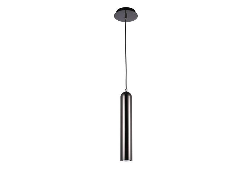 TUBO 1 Black/Chrome - Azzardo - lampa wisząca  GWARANCJA NAJNIŻSZEJ CENY!