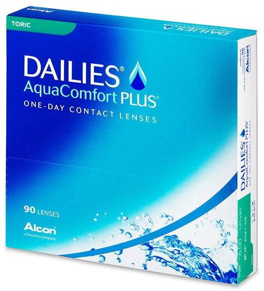 Dailies AquaComfort Plus Toric, 90 szt.