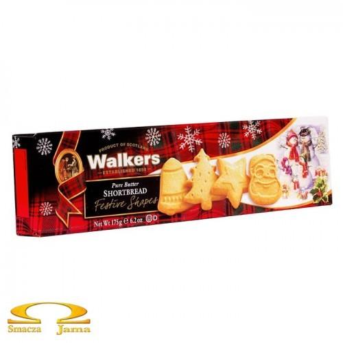 Ciastka Walkers Świąteczne Kształty 175g