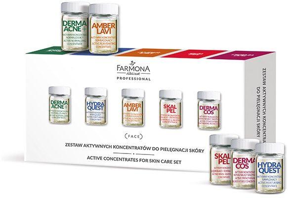 Zestaw Aktywnych koncentratów do pielęgnacji skóry 10x5ml