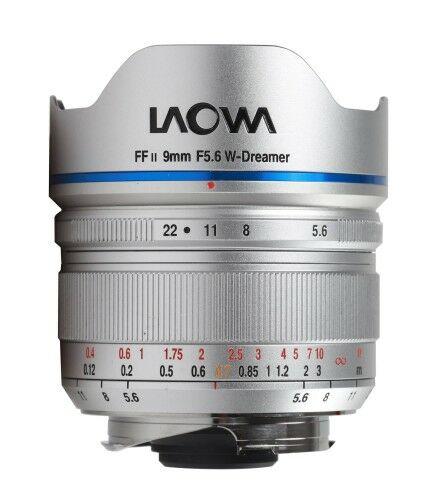 Laowa 9mm f/5,6 FF RL do Leica M - srebrny