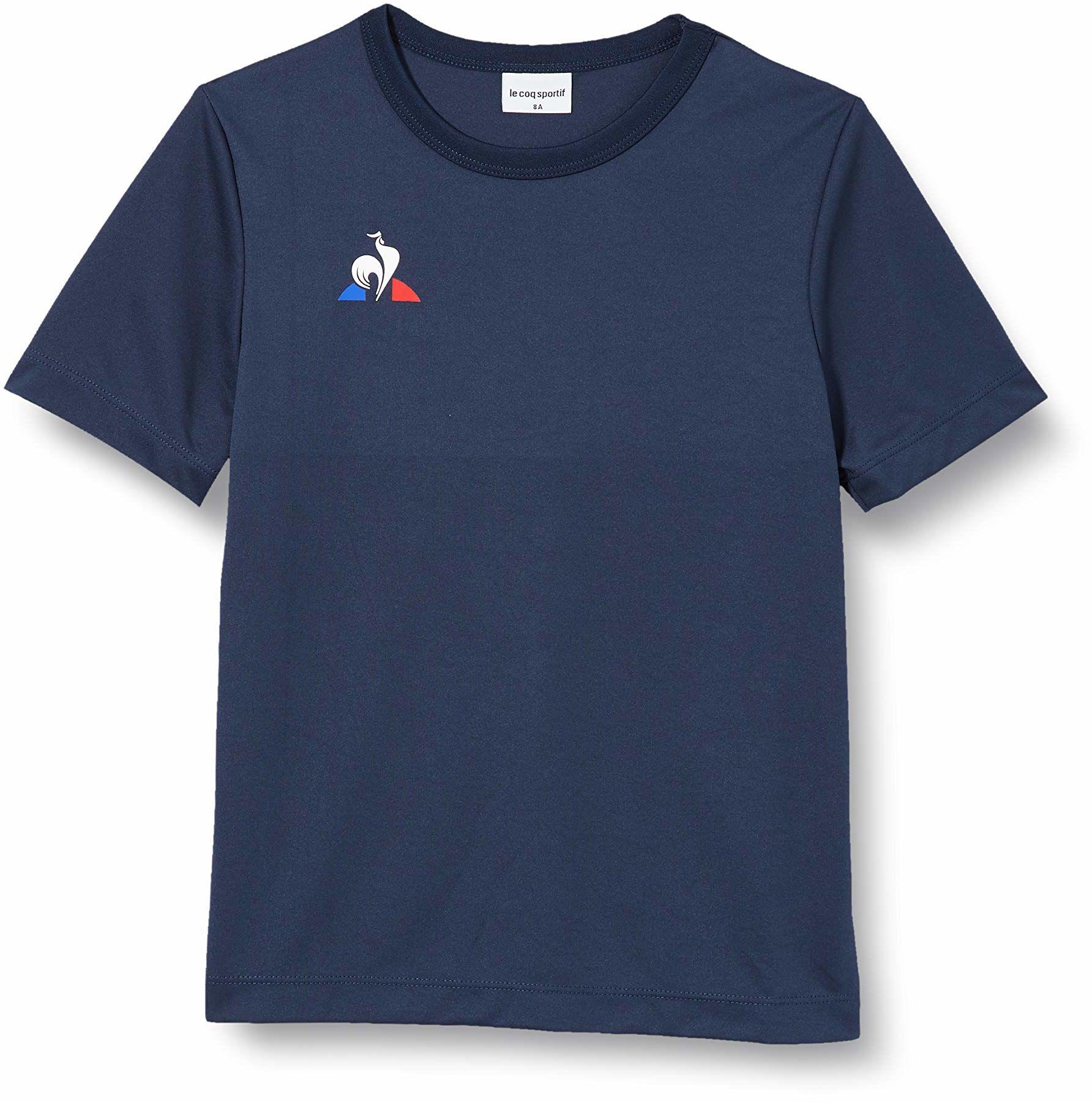 Le Coq Sportif N 1 Maillot Match Enfant Mc podkoszulek, niebieski (Dress Blues), 10A