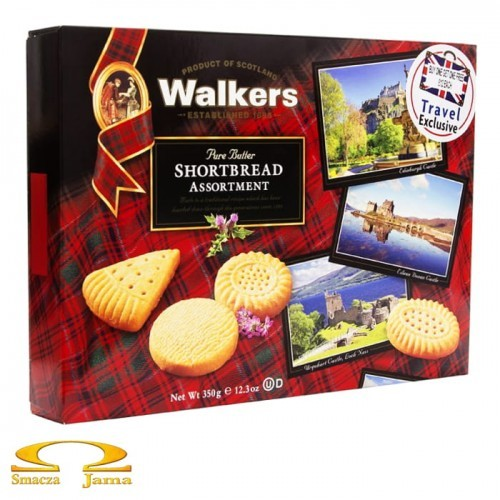 Ciastka Walkers Shortbread Assortment 320g