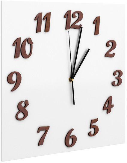 Zegar ścienny Presto - Biały