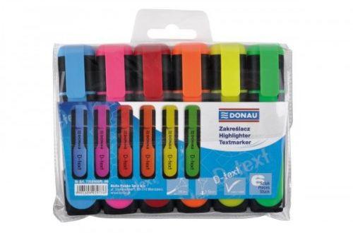 Zakreślacz DONAU D-TEXT kpl. 6 kolory