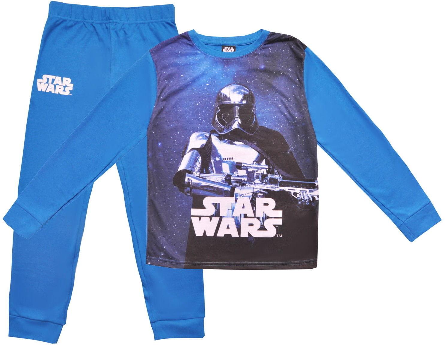 Piżama chłopięca STAR WARS pudełko, niebieska