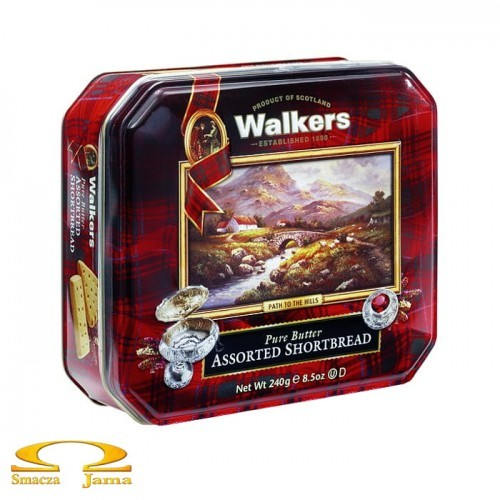 Ciastka Walkers Shortbread Heritage Collection 240g