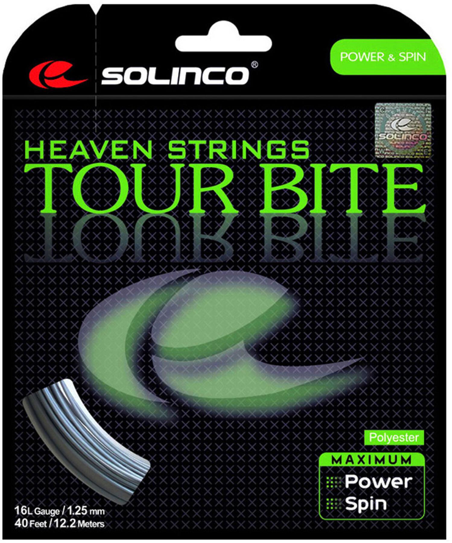 Naciąg tenisowy jednordzeniowy SOLINCO Tour Bite 1,25mm 12 m