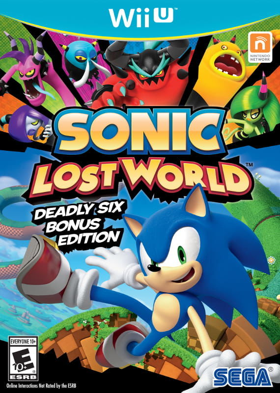Gra Sonic Lost World Special Edition (WiiU)