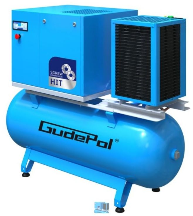Kompresor śrubowy GudePol HIT-3G 4/10/270 VT 2021