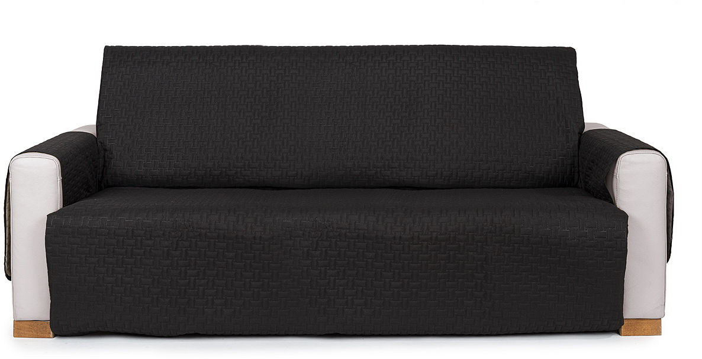 4Home Narzuta na kanapę Doubleface czarna/szara, 180 x 220 cm, 180 x 220 cm