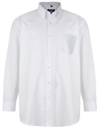 KAM 664A Koszula Męska Biała Duże Rozmiary
