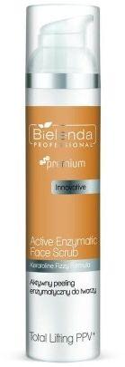 Bielenda Professional TOTAL Lifting PPV Aktywny peeling enzymatyczny do twarzy 100g