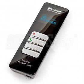 Dyktafon cyfrowy DVR-188 z Bluetooth  - nagrywanie rozmów telefonicznych