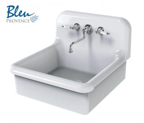Umywalka / Zlewozmywak ceramiczny 60x68x50h cm biały ( +kolory ) True Colors BLEU PROVENCE