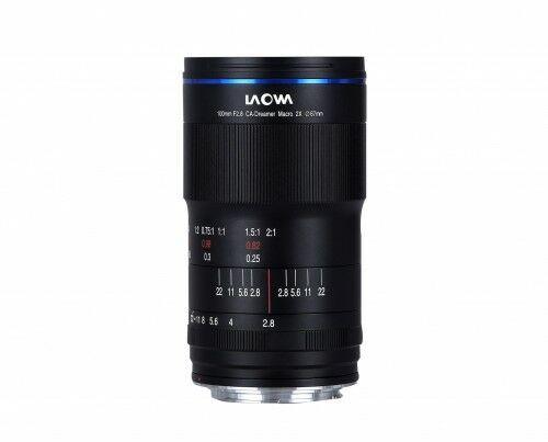 Laowa CA-Dreamer 100mm f/2,8 Macro 2:1 do Canon EF - manualna przysłona